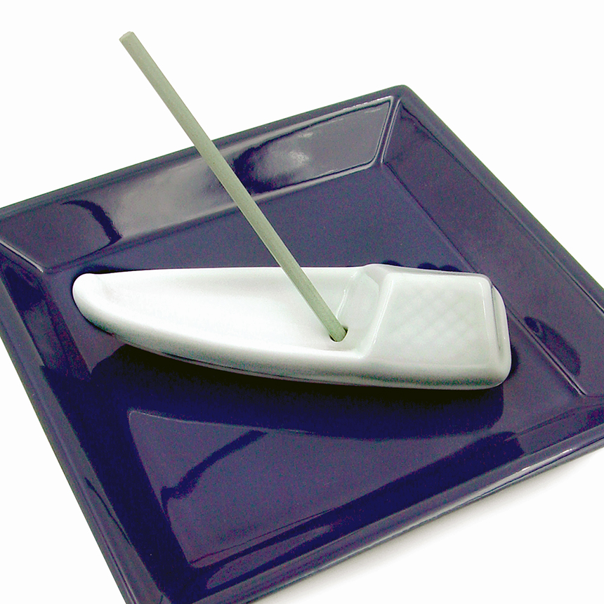 Porcelain Boat Incense Holder