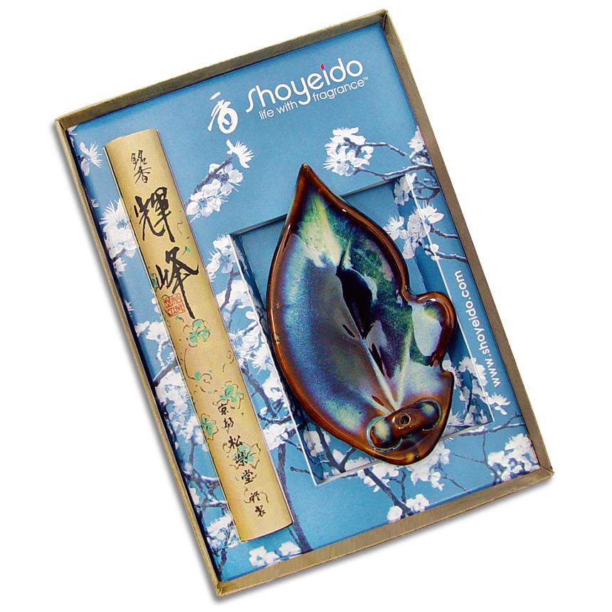 """Ochiba """"Leaf"""" Incense Gift Set"""