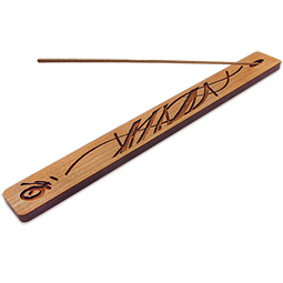 'Wisp' Cherry Wood Incense Holder