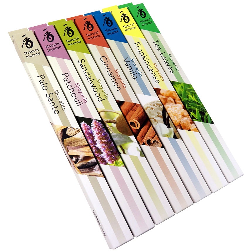 Shoyeido Overtones® Incense 7 Bundle Assortment